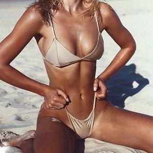 Other - 🆕Cadence Nude Triangle Bikini Top